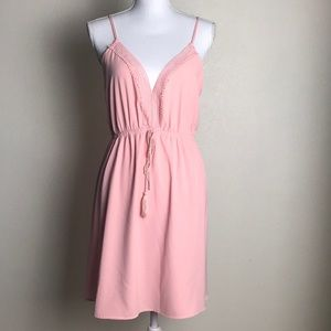 Charlotte Russe pink dress , size XL dress